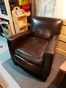 leather coffee chairs