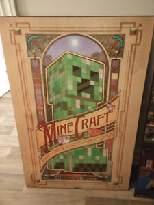 Minecraft poster Plack's