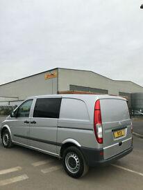 62 2012 Mercedes-Benz Vito 2.1CDi ( EU5 ) Window Dualiner 113 CDI - NO VAT