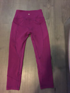 Lululemon- All the Right Places Crop-Size 6