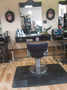 Hair salon equipment for sale.