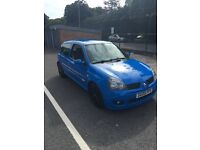 Renault Clio Cup 182 Racing Blue