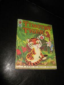 TIMOTHY TIGER A Rand McNally Book - 1959