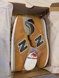 Men's New Balance 373 Suede Trainers