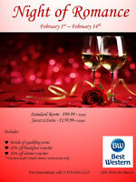 Night of Romance at Best Western Little River Inn