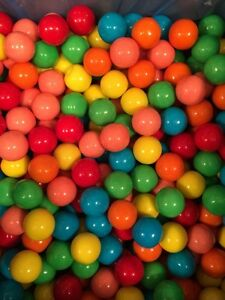 Assorted gumballs vending 850count