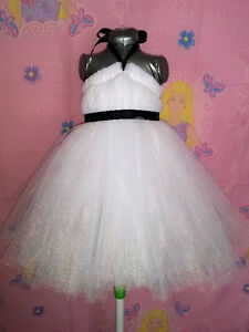 Brand New Made-To-Order Flower Girl Tulle Dress - Any Colour