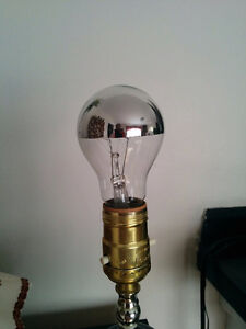 Unique, Silver Tipped Light Bulbs