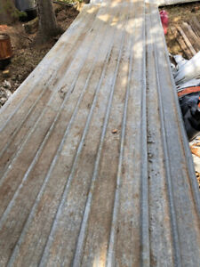 Used Metal Roof Sheets - 16'