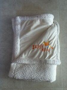 White Fluffy Blanket