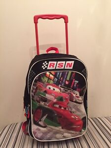 McQueen Backpack with wheels West Island Greater Montréal image 1
