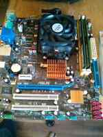 Amd cpu, motherboard and ram