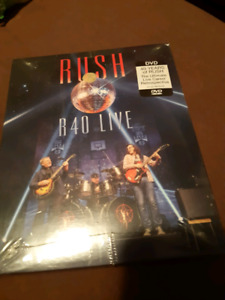 Still in the packaging  Rush r40 live DVD set
