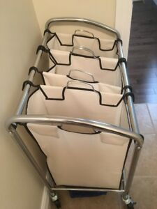 For Sale: Laundry Room 3 Section Hamper