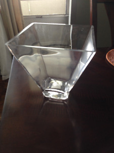 Glass Vase/Center Piece