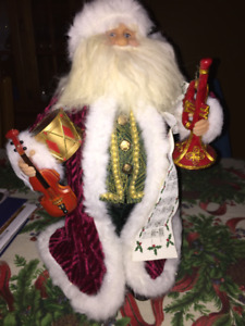 Christmas Decoration Santa Claus Statue