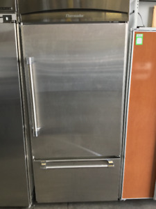 "Thermador 36"" Stainless Steel Fridge"