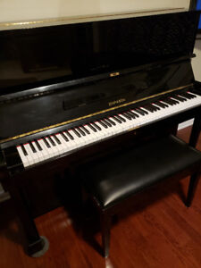 DIAPASON KAWAI Piano Made in Japan Excellent Condition w/Stool