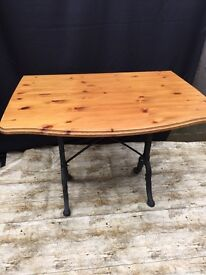 TABLE with CAST LEGS VERY SOLID