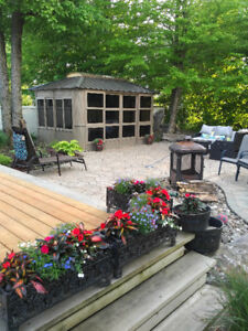 NEW! Gazebo Verrière 10'x12' DIRECT FROM MANUFACTURER
