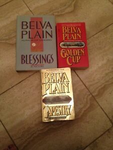 Belva Plain: Tapestry, Golden Cup, Blessings