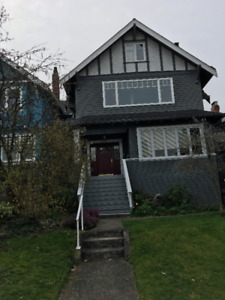 Kitsilano 2 Bedroom and 2 Den Townhouse Style Apartment