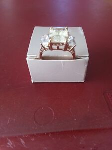 From Estate -  Cubic Zirconium Ring – size 10