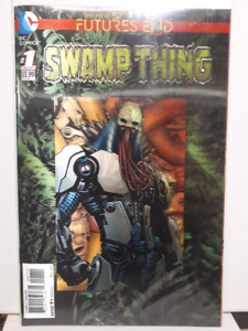 Swamp Thing 3D lenticular cover