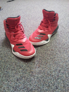 Shoes-  Red Addidas, size 12 (100$)