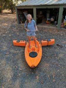 BRAND NEW Haswing Fishing Kayak W/ Electric Motor
