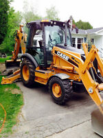 Loader backhoe,pepine case 580