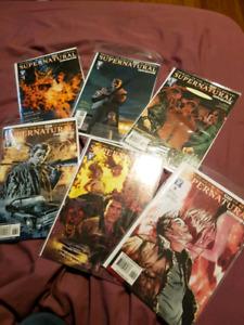 Supernatural origin comic series complete