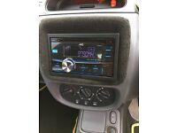 JVC KW-R400 USB, MP3 + AUX double din car stereo