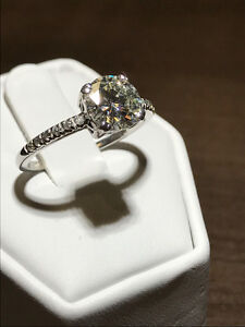 BIG LOOK 1.47TCW DIAMOND ENGAGEMENT RING ON SALE NOW !