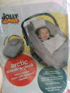 Carseat cover for winter