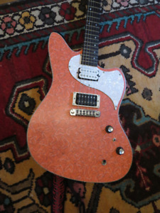 KAUER  GUITARS DAYLIGHTER  ROSETTA BOOMERANG TOP