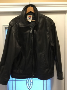Black Leather jacket from PepsiCola Co.