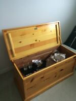 Solid Pine Hope Chest