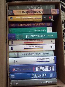 Huge lot of mathematics textbooks - teaching resources London Ontario image 1