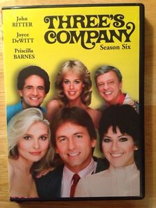 Three's Company Season 6 DVD