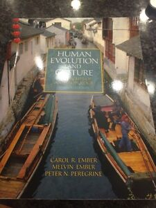 Human Evolution and Culture Sixth Edition