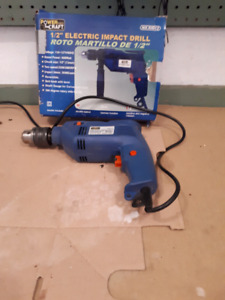 """Electric Impact Drill- 1/2"""" Power Pro Craft"""