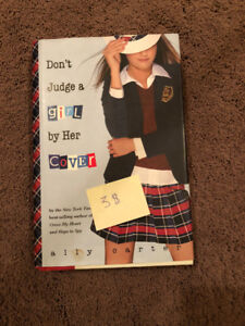 """Don't Judge a girl by Her Cover"" Novel Written by Ally Carter"