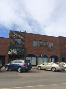 Downtown High River Retail/Office Space & Warehouse Available