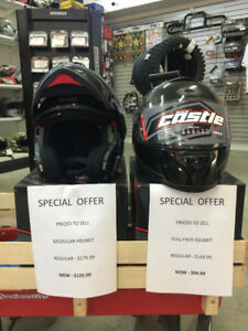CASTLE DOT HELMETS FULL FACE $99