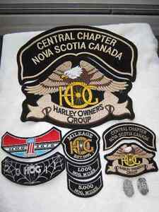 HOG patches and pins