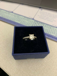 Swarovski Promise Ring - Mint Condition - Original Box - Size 7