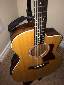 Taylor 214CE with stand/travel bag