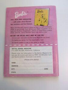 Vintage Barbie & Ken Doll Book Stratford Kitchener Area image 2