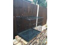 dog cage size m